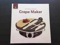 Pancake and crepes maker