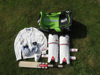 Set of Cricket Equipment for young Batsman