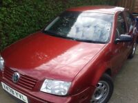 for sale vw bora 1,6 spares repair no mot no logbook