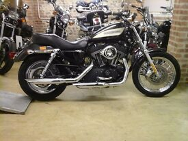 DEPOSIT PAID SHOWROOM CONDITION HARLEY DAVIDSON XL1200R ROADSTER LOW MILEAGE EXTRAS