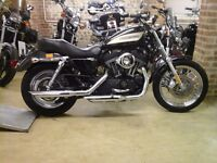 SHOWROOM CONDITION HARLEY DAVIDSON XL1200R ROADSTER LOW MILEAGE EXTRAS