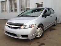 2010 Honda Civic DX, 0 down $109/bi-weekly OAC