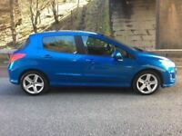 2008 Peugeot 308 1.6, 5 Door, Petrol, Manual, MOT 12 Months, Super Clean, JUST BEEN SERVICED