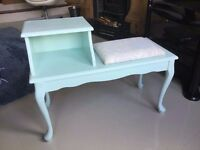 Up-cycled Telephone Seat / Table (Vintage) £45