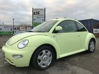 VW BEETLE LOVELY DRIVE FULL BLACK LEATHER 11 MONTHS MOT!!!