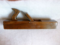 vintage wooden jack plane