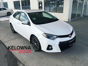 2015 Toyota Corolla 4dr Sdn S Auto w/Tech Package
