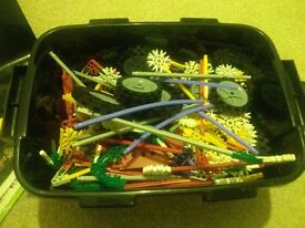 Big box of knex in excellent condition