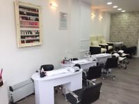 hairdressing salon for sale-busy main high street -equipment included