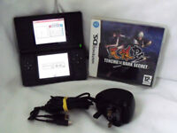 Nintendo DS Lite with Tenchu Dark Secret Game & Mains Charger