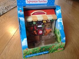 Brand New Sylvanian Families Sainsbury's Grocery Shop