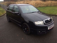 **SKODA FABIA VRS 2004 ONLY 118,300 MILES REMAPPED**