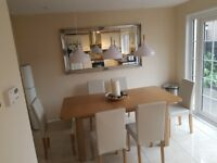 Dining Table & 6 Chairs (1.8m)