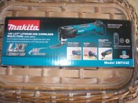 MAKITA 18V LXT CORDLESS MULTI TOOL WITH QUICK RELEASE BUTTON NEW