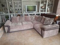Corner Living Room Chairs - Suite with Cushions included (can be attached or as separate)