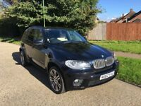 Black 2012 BMW X5 40d M Sport, Full BMW Service History, packed with features, excellent condition