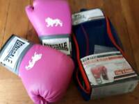 Woman's boxing gloves