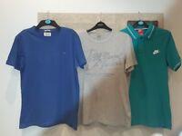 3 mens designer t-shirts