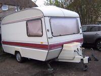 1984 ECCLES 2 berth caravan