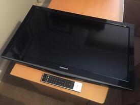 """32"""" Toshiba LED HD TV, boxed nearly new"""