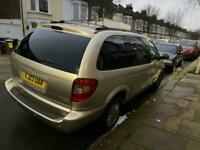 Chrysler grand voyager 3.3 petrol lpg