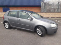 2007 VW GOLF MATCH 1.6 FSi MET GREY,6 SPEED,CLEAN CAR,GREAT VALUE