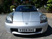 Toyota Mr2 Roadster - Low Mileage - REDUCED