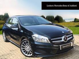 Mercedes-Benz A Class A250 BLUEEFFICIENCY AMG SPORT (black) 2014-09-01