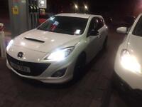 Mazda 3 MPs 2.3 turbocharged 2010, fsh, low miles cat d , px swap s3 gti m sport dsg offer