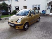 Daewoo matiz excellent condition - incredibly low mileage