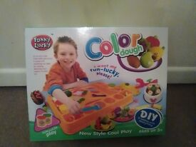 play dough set with accessories