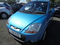 Chevrolet Matiz SE Plus, 1.0, 2008, LONG MOT, LOW MILES, VALUE FOR MONEY 5 DOOR CITY VEHICLE.