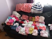 Bundle of girls clothes 12-18 months