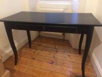IKEA Hemnes Black Desk/Dressing Table