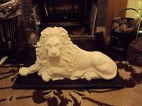 Large cast iron Lion Millwall Mancave Pub