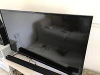 """BUSH 49"""" HD LED SMART TV - ONLY 2 MONTHS OLD"""