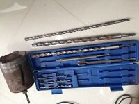 Big drill bits for wall drilling, exhaust fan whole