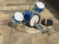 Childs drum kit, 3 piece