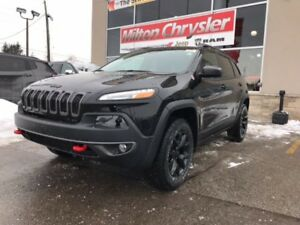 2018 Jeep Cherokee TRAILHAWK 4X4|LEATHER|NAVIGATION|PANORAMIC SU