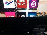 "Samsung 46"" HD FREEVIEW TV - excellent condition to collect from Derby"