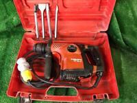 Hilti TE 30C Combi Hammer Drill / light Breaker 110v / Plus Chisels