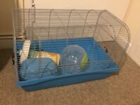 Large wire hamster cage