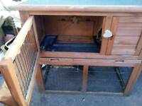 Small rabbit /guinea pig cage