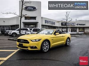 2015 Ford Mustang GT Premium/50th pkg, Only one Ford certified
