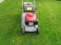 Honda Petrol Lawnmower, Model HRB 425CQX