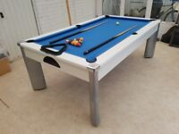 Fusion Outdoor Pool Table 7ft