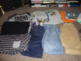 BOYS JOB LOT CLOTHES 5-6/6-7 YR