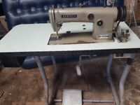 Industrial Brother Sewing Machine db2-b755-3 All material inc Leather