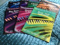 Music books for keyboard