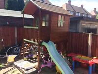 Brilliant fun Kids playhouse with slide